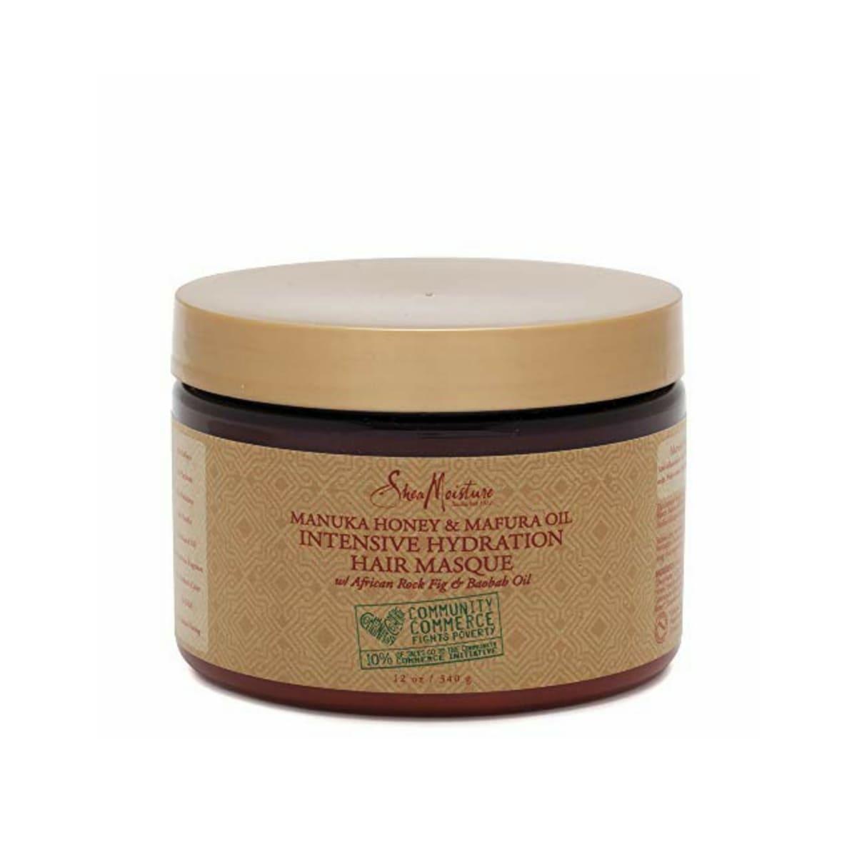 comprar-cosmetico-vegano-mascarilla-manuka-honey-&-mafura-oil-intensive-hydration-sheamoisture-metodo-curly-trenzas-crochet-pelucas-www.muerebella.com