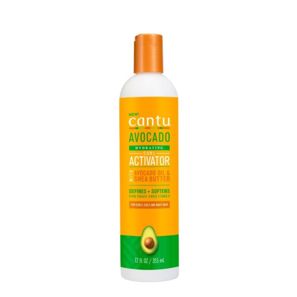 comprar-cosmetico-vegano-definidor-crema-avocado-oil-&-shea-butter-curl-activator-cantu-metodo-curly-trenzas-crochet-pelucas-www.muerebella.com